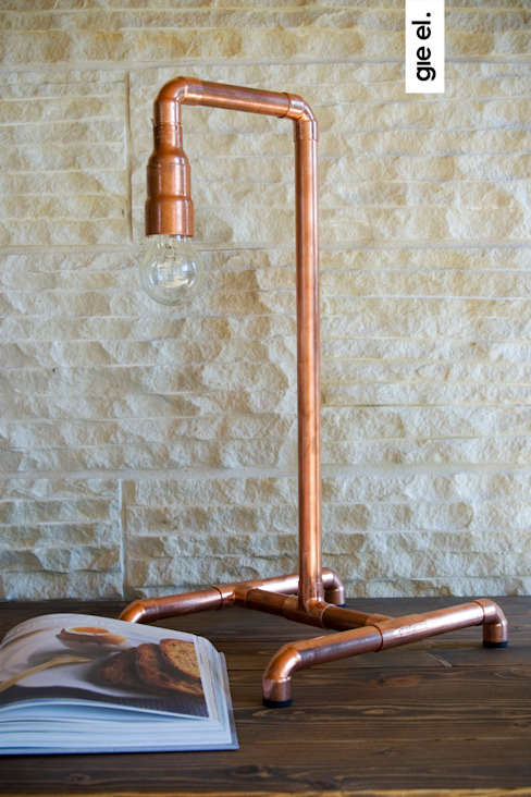 Industrial lamp van Gie El Home Industrieel