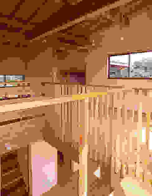 Ruang Keluarga Gaya Eklektik Oleh 八島建築設計室 Eklektik