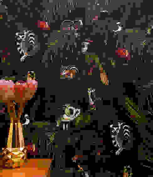 Amazonia Dark Wallpaper von Witch and Watchman