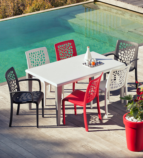Tulip Chair par Jessica Guillot Moderne