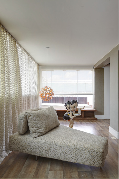 Apartamento Campo Belo - 374m2 por Viviane Dinamarco Design de Interiores Moderno