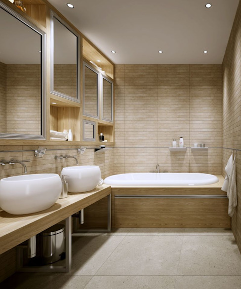 Baños de estilo moderno de Hattendorf GmbH Moderno