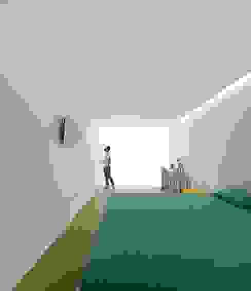 Projekty,  Sypialnia zaprojektowane przez spaceworkers®, Nowoczesny