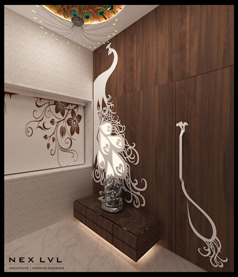 MR. AKHILESH CHAUBE'S RESIDENCE by NEX LVL DESIGNS PVT. LTD.