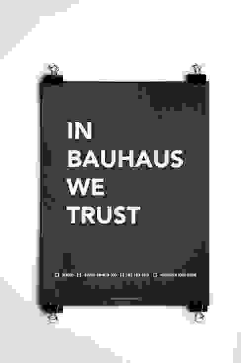 Affiche In Bauhaus We Trust par Agence A24COM