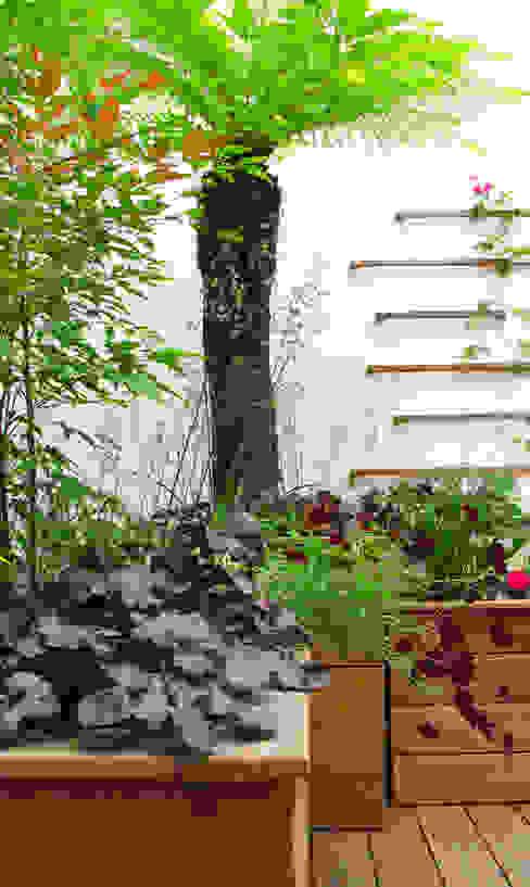Marylebone Courtyard Nowoczesny ogród od Fenton Roberts Garden Design Nowoczesny