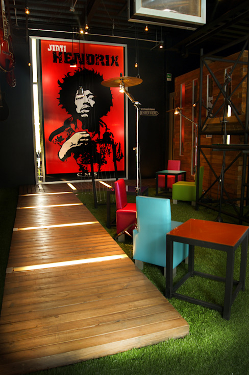 The Contemporary Music School de Boutique de Arquitectura (Sonotectura + Refaccionaria)