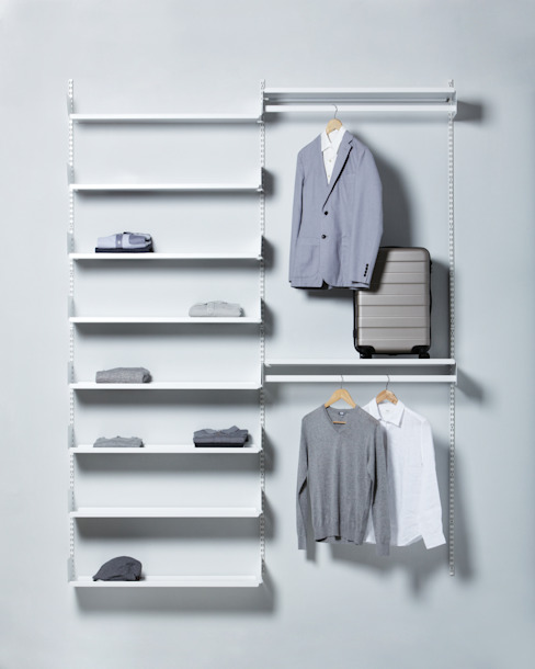 FLOATING SHELVING_OPEN DRESSROOM SOLUTION: THE THING FACTORY 의  드레싱 룸,