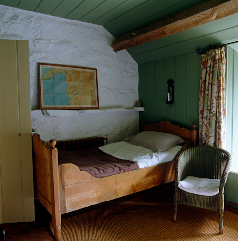Welsh Farmhouse Bedroom by Hackett Holland