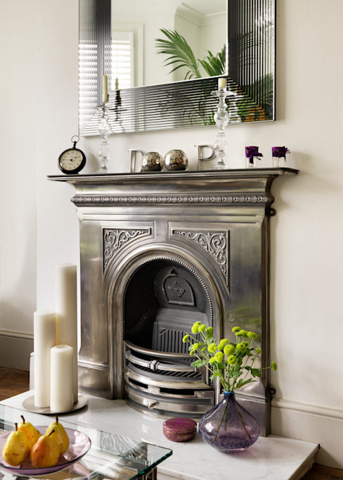 Camberwell Victorian House Гостиная в стиле модерн от My Bespoke Room Ltd Модерн