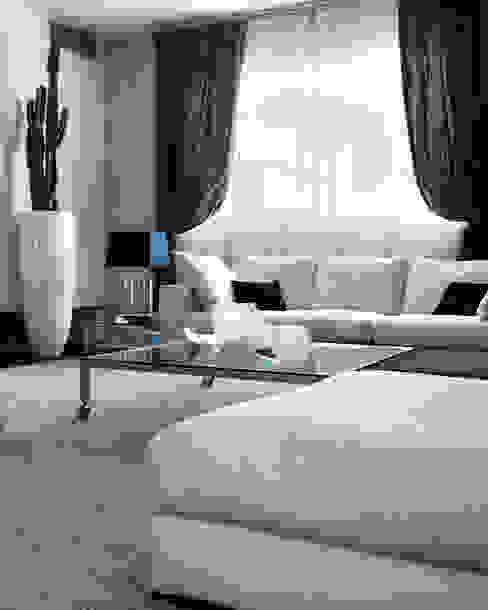 Modern Living Room by Studio d'Architettura MIRKO VARISCHI Modern
