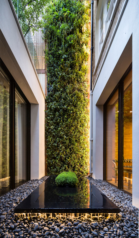 Private Garden, Belgravia, Living Wall by Biotecture