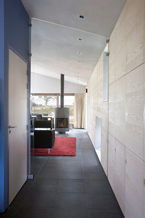 Woonhuis Pantekoek Moderne woonkamers van Groeneweg Van der Meijden Architecten Modern