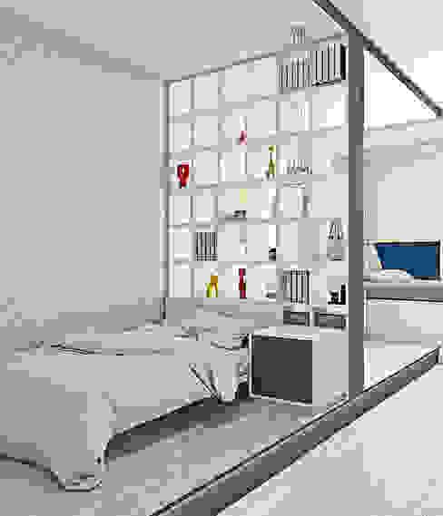Оттенки фиолетового Детская комнатa в скандинавском стиле от Pure Design Скандинавский