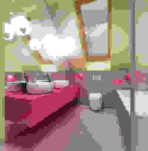 Modern bathroom by Studio Projektowe Projektive Modern