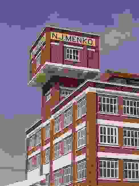 Watertoren:  Evenementenlocaties door Erik Knippers Architect,