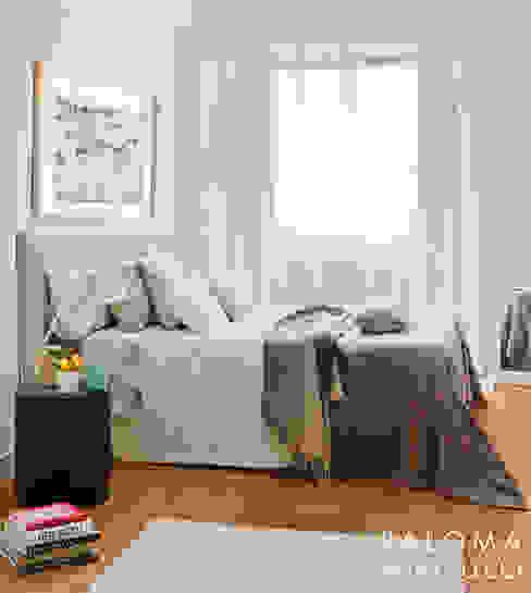 Dormitorio principal Dormitorios de estilo minimalista de Interiorismo Paloma Angulo Minimalista