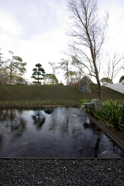 House in Fujinomiya Moderne Häuser von CASE DESIGN STUDIO Modern