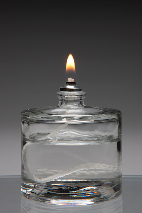 Glass Refillable 50mm Fuel Cell (Case 15) by The Covent Garden Candle Company Modern