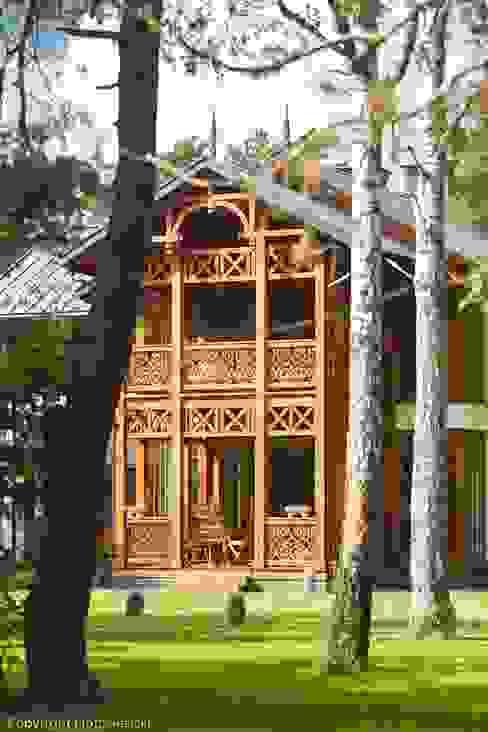 Domy Rustykalne domy od Pracownia Architektoniczna Marka Przepiórki Rustykalny