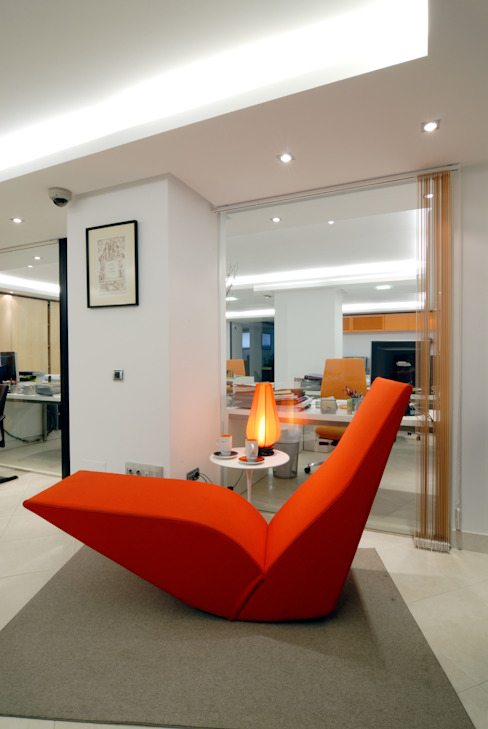 OFICINAS FANSTUDIO Oficinas y tiendas de estilo minimalista de FANSTUDIO__Architecture & Design Minimalista