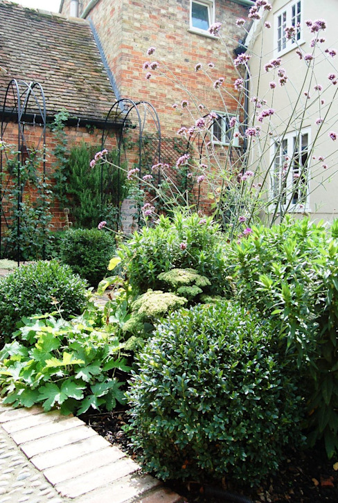 Courtyard Garden:  Garden by Dawn Isaac Garden Design