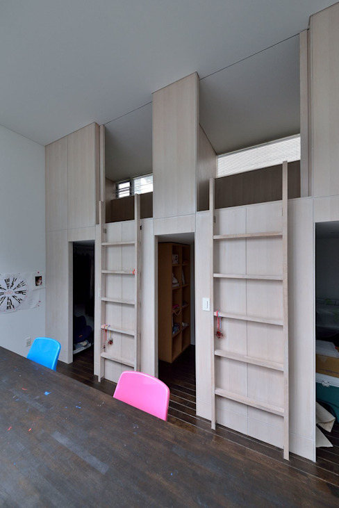 MO-HOUSE: 株式会社長野聖二建築設計處が手掛けた子供部屋です。,モダン
