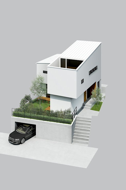 Rumah Gaya Eklektik Oleh ラブデザインホームズ/LOVE DESIGN HOMES Eklektik