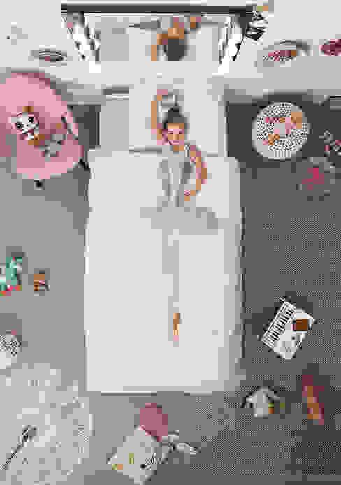 SNURK Children's Ballerina Duvet Bedding Set od Cuckooland Nowoczesny