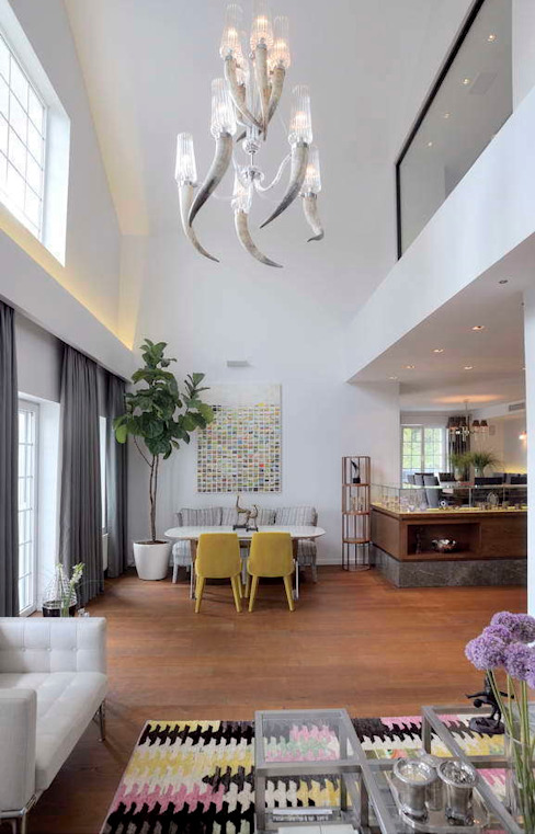 House E - E Evi Modern Yemek Odası HANDE KOKSAL INTERIORS Modern