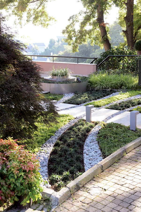 Moderne tuinen van HANDE KOKSAL INTERIORS Modern