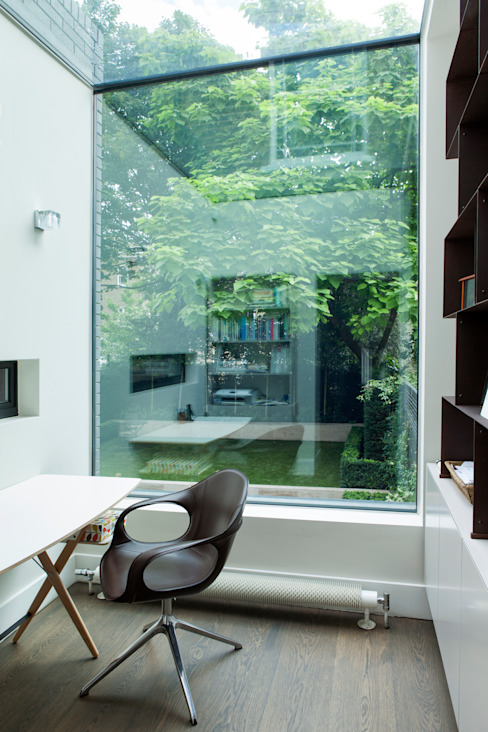 A Brick and a Half house Oficinas de estilo minimalista de Lipton Plant Architects Minimalista