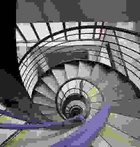 Villa Montsouris . Escalier. Atelier Morales 2014 par Atelier Morales Moderne