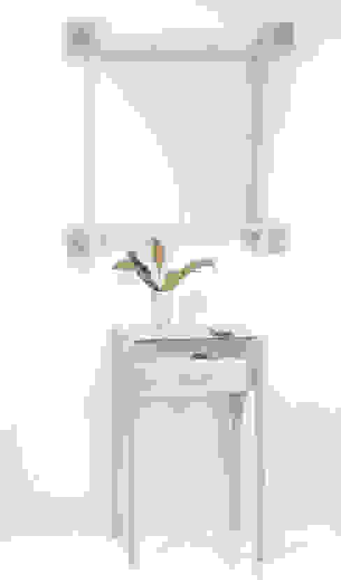 """Lustro """"Kwadrat"""": styl , w kategorii  zaprojektowany przez Meble Autorskie Jurkowski,Skandynawski"""