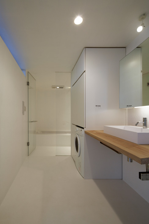 Minimalist bathroom by TNdesign一級建築士事務所 Minimalist
