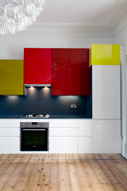 East London Apartment Draisci Studio Cocinas de estilo moderno