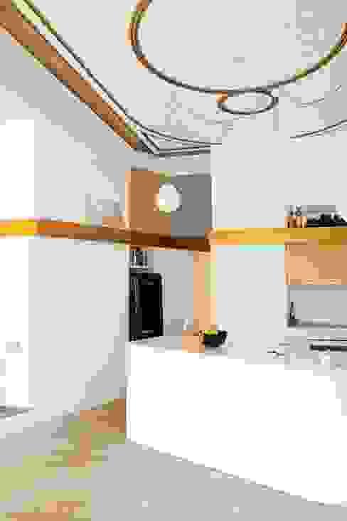 PISO SANTPERE47 Miel Arquitectos Cocinas de estilo moderno