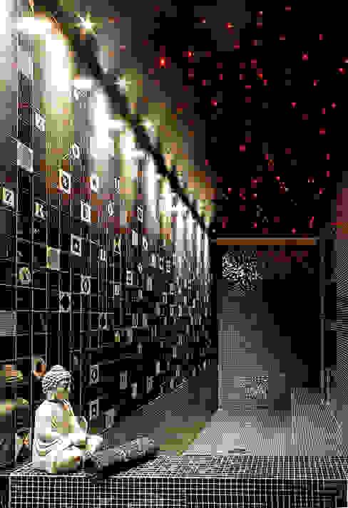 Projekty,  Łazienka zaprojektowane przez Matteo Gattoni - Architetto, Nowoczesny