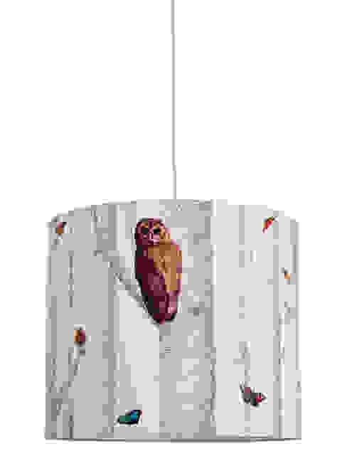 """Lampenschirm """"Im Wald"""": modern  von Anna Wand,Modern"""