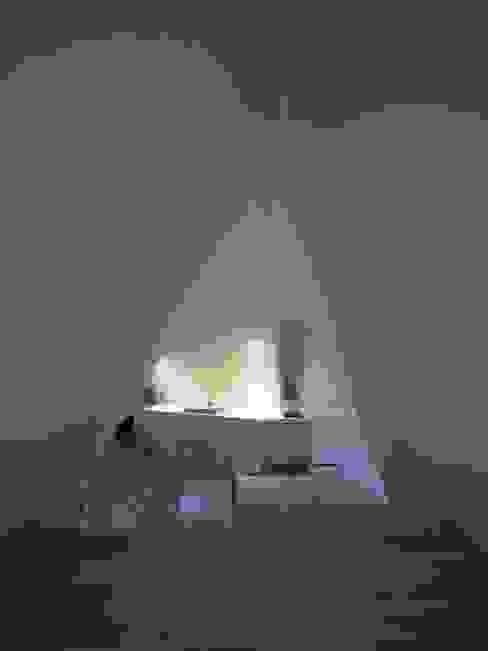 安曇野の山荘 モダンな キッチン の カスヤアーキテクツオフィス(KAO) モダン