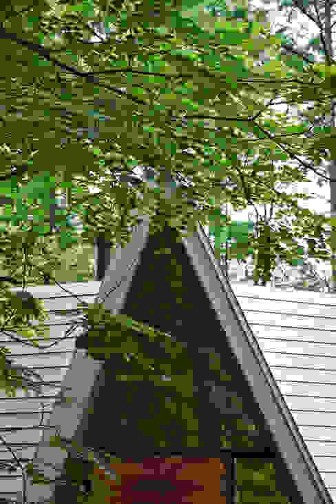 Forest House Fenêtres & Portes modernes par カスヤアーキテクツオフィス(KAO) Moderne
