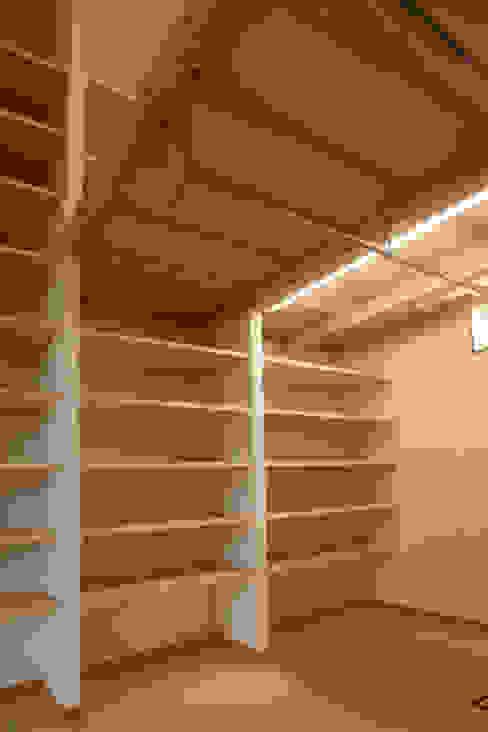 天体望遠鏡のある家 tai_tai STUDIO モダンデザインの 多目的室