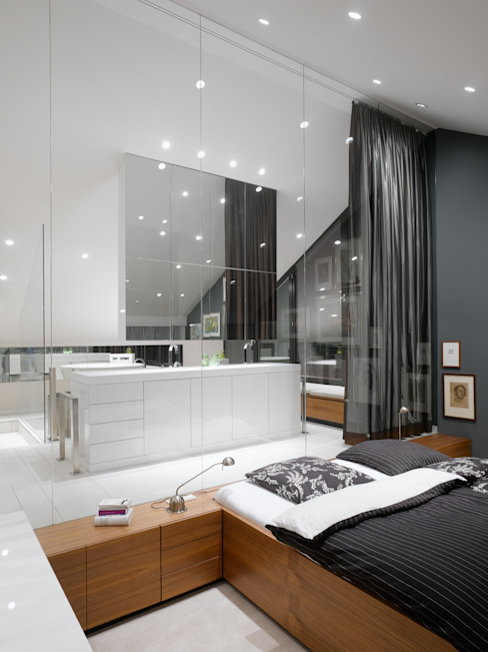 WOHNUNG SCH Häuser von Ippolito Fleitz Group – Identity Architects