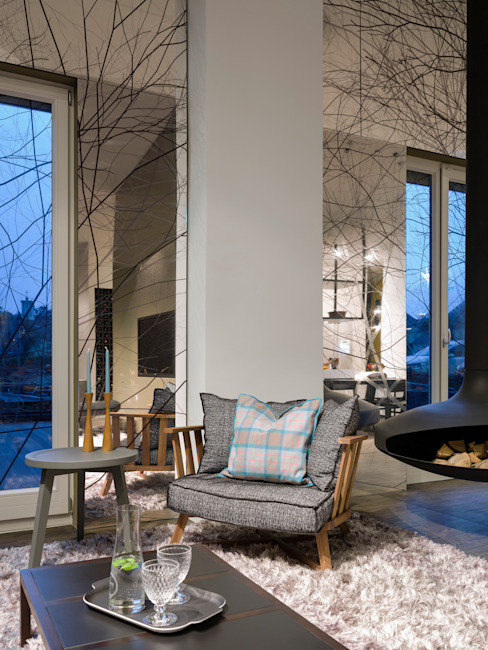 Loft ESN Modern Living Room by Ippolito Fleitz Group – Identity Architects Modern