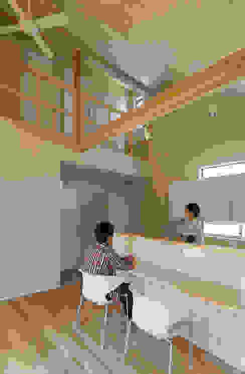 Dining room by 松岡健治一級建築士事務所, Minimalist