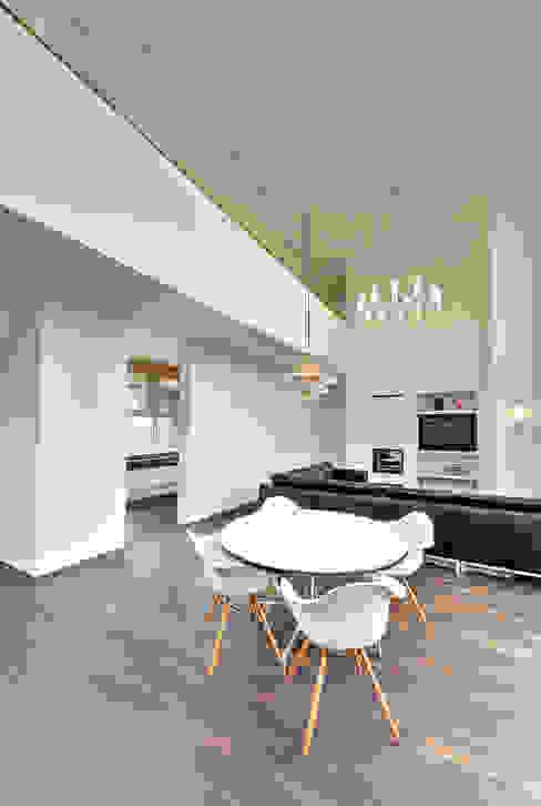 Salle à manger de style  par Möhring Architekten, Moderne