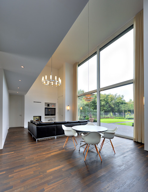 Modern Living Room by Möhring Architekten Modern