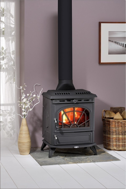 AGA Minsterley Wood Burning / Multi Fuel Stove Direct Stoves リビングルーム暖炉&アクセサリー