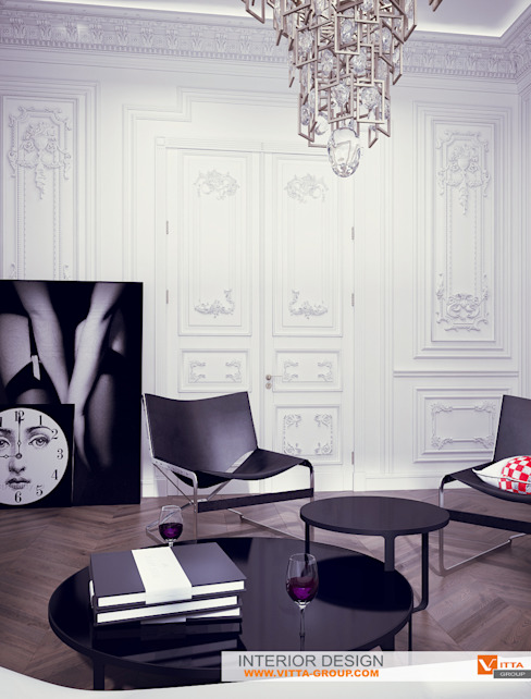 Living room by homify, Eclectic