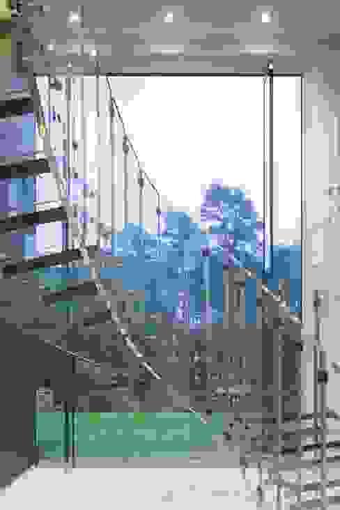 от Siller Treppen/Stairs/Scale Модерн Стекло